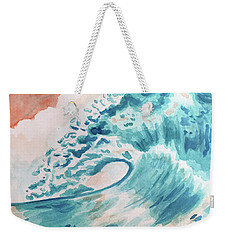 Wave Weekender Tote Bag by Whitney Morton