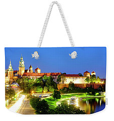 Weekender Tote Bag featuring the photograph Wavel Castle by Fabrizio Troiani