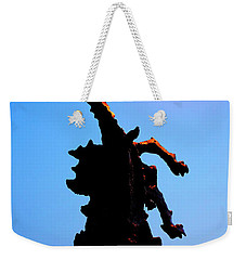 Weekender Tote Bag featuring the photograph Wavel Dragon by Fabrizio Troiani