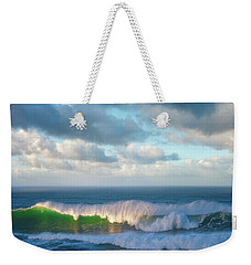 Weekender Tote Bag featuring the photograph Wave Length by Darren White