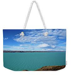 Waves Above, Waves Below Weekender Tote Bag