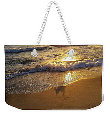 Waves After Storm Weekender Tote Bag