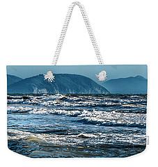 Waves At Populonia Promontory - Onde Al Promontorio  Weekender Tote Bag