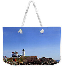 Waves At The Nubble Weekender Tote Bag
