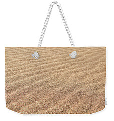Waves In The Sand Weekender Tote Bag