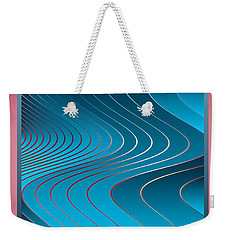 Waves Weekender Tote Bag by Leo Symon