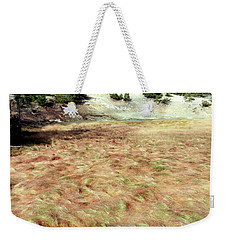 Waves Of Grass Weekender Tote Bag
