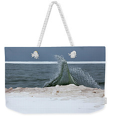 Waves Of Lake Michigan Weekender Tote Bag