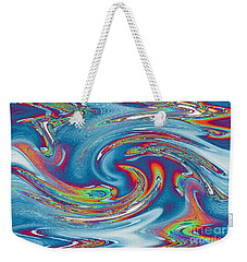 Waves Of Rainbow Weekender Tote Bag