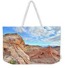 Waves Of Sandstone In Valley Of Fire Weekender Tote Bag