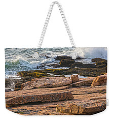 Waves Of Stone Weekender Tote Bag