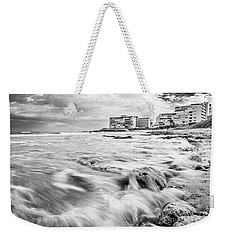 Waves On The Beach Weekender Tote Bag