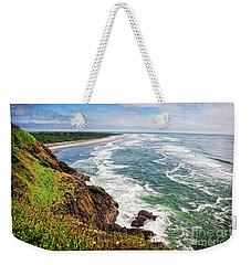 Waves On The Washington Coast Weekender Tote Bag