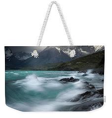 Waves On Waves Weekender Tote Bag