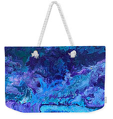 Waves Weekender Tote Bag