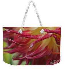 Waving Petals Weekender Tote Bag by Patricia Strand