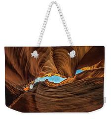 Wavy Weekender Tote Bag