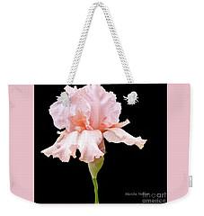 Wavy Pink Iris Ll Weekender Tote Bag