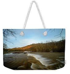 Wavy River Weekender Tote Bag
