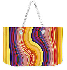 Wavy Stripes 1 Weekender Tote Bag
