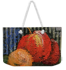 Waxed Fruit Weekender Tote Bag
