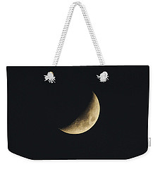 Waxing Crescent Spring 2017 Weekender Tote Bag