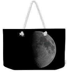 Waxing Gibbous Moon Weekender Tote Bag