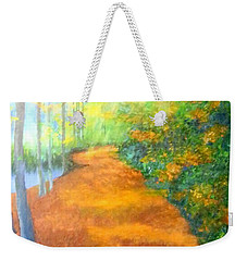 Way In The Forest Weekender Tote Bag