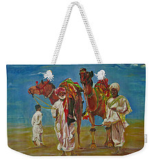Way Of Life Weekender Tote Bag by Khalid Saeed