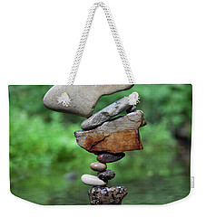 Way Of Zen Weekender Tote Bag