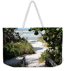 Way To The Beach Weekender Tote Bag