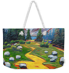 Way To The Lake Weekender Tote Bag