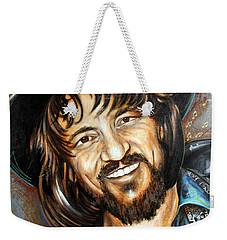 Waylon Jennings Weekender Tote Bag