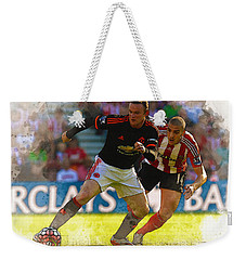 Wayne Rooney Is Marshalled Weekender Tote Bag