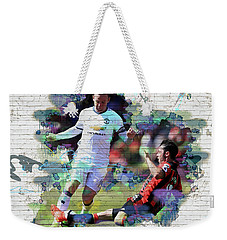 Wayne Rooney Street Art Weekender Tote Bag