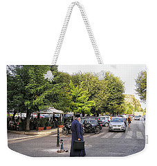 Weekender Tote Bag featuring the photograph Ways To Stop Traffic  by Connie Handscomb