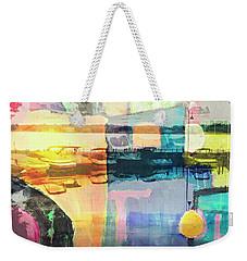 Wayzata Boats Abstract Weekender Tote Bag