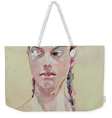 Wc Portrait 1619 Weekender Tote Bag by Becky Kim