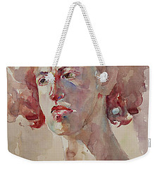 Wc Portrait 1621 Weekender Tote Bag by Becky Kim