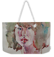 Self Portrait 1623 Weekender Tote Bag by Becky Kim