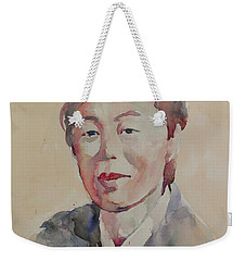 Wc Portrait 1625 My Mama Weekender Tote Bag by Becky Kim
