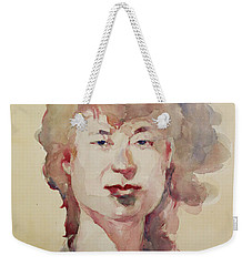 Wc Portrait 1626 My Sister Eunja Weekender Tote Bag by Becky Kim