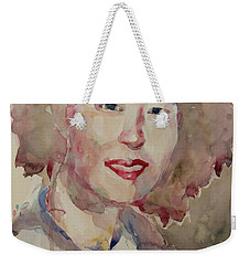 Wc Portrait 1628 My Sister Hyunsook Weekender Tote Bag by Becky Kim