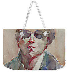 Wc Portrait 1630 My Brother Ryeong Weekender Tote Bag by Becky Kim