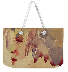 Wcp 1702 A Dancing Fool Weekender Tote Bag by Becky Kim