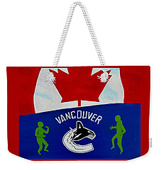We Are All Canucks Weekender Tote Bag