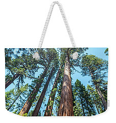 Weekender Tote Bag featuring the photograph We Are Nothing- by JD Mims