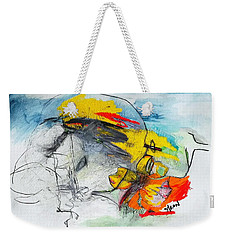 We Are One Weekender Tote Bag by Helen Syron