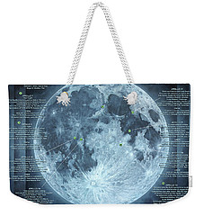 We Choose To Go To The Moon Weekender Tote Bag