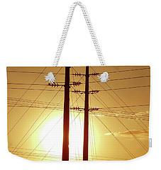 We Don't Need Light Weekender Tote Bag by Beto Machado